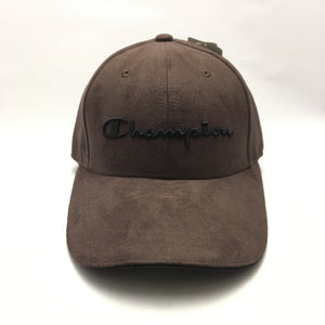 Champion Suede Twill Cap (Brown)(Limited Edition)