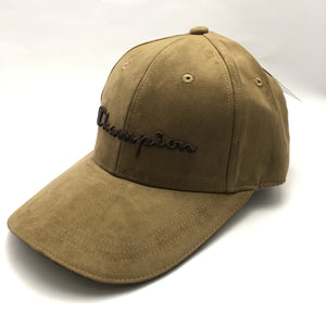 Champion Suede Twill Cap (Khaki)(Limited Edition)