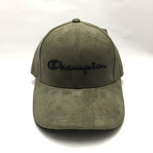 Champion Suede Twill Cap (Camo Green)(Limited Edition)