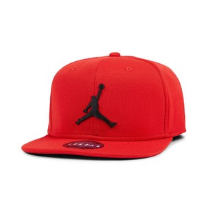9856f951a2b Air Jordan Pro Jumpman Snapback Cap (Gym Red   Black)