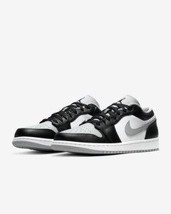 "Men's Air Jordan 1 Low ""Grey Toe"" (Black/Light Smoke Grey/White)(553558-039)"
