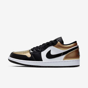 "Men's Air Jordan 1 Low ""Gold Toe"""