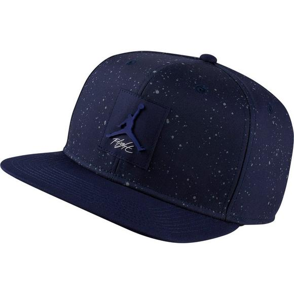 Jordan Snap back Print (Black/Navy)