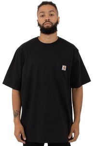 (PRE ORDER) Carhartt K87 Workwear Pocket T-Shirt (Black)(Oversized fit)(NO CASH ON DELIVERY - ALL ORDERS MUST BE PAID FULL IN ADVANCE)