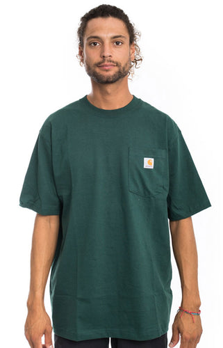(PRE ORDER) Carhartt K87 Workwear Pocket T-Shirt (Hunter Green)(Oversized fit)(NO CASH ON DELIVERY - ALL ORDERS MUST BE PAID FULL IN ADVANCE)