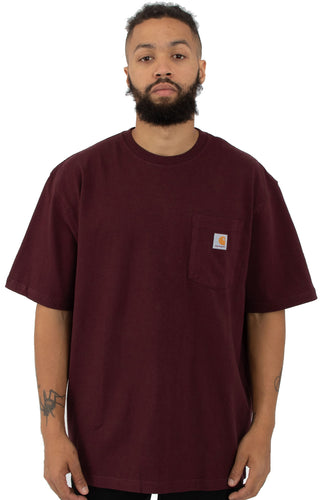 (PRE ORDER)Carhartt K87 Workwear Pocket T-Shirt (Port)(Oversized fit)(NO CASH ON DELIVERY - ALL ORDERS MUST BE PAID FULL IN ADVANCE)