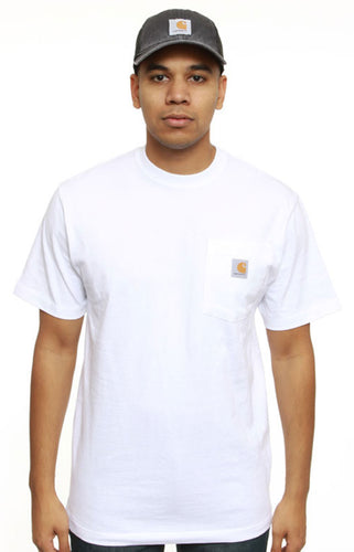 (PRE ORDER)Carhartt K87 Workwear Pocket T-Shirt (White)(Oversized fit)(NO CASH ON DELIVERY - ALL ORDERS MUST BE PAID FULL IN ADVANCE)