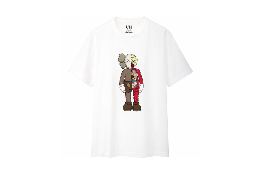 KAWS x Uniqlo Flayed Anatomy Tee (White)