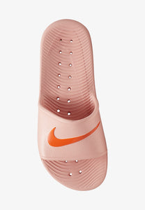 Women's Nike Kawa Shower Slides (Coral Starfish/Stardust)