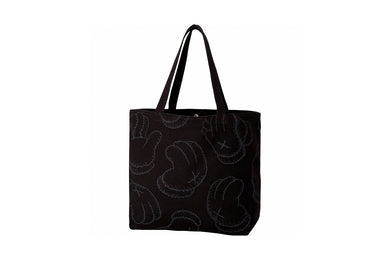 KAWS x Uniqlo BFF All Over Tote Bag (Black)