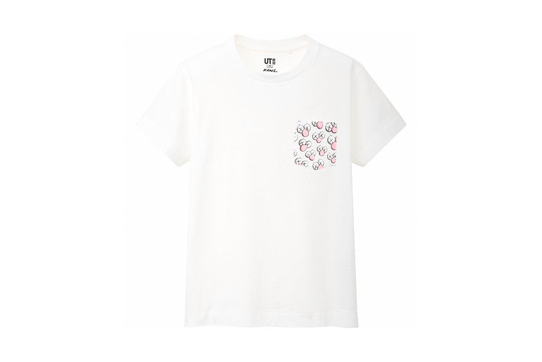 KAWS x Uniqlo BFF Pocket Tee (White)