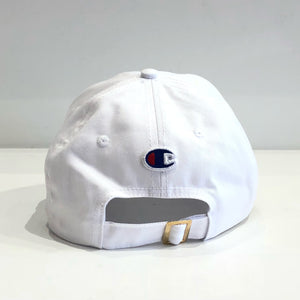 KITH x Champion Double Logo Dad Cap (White)