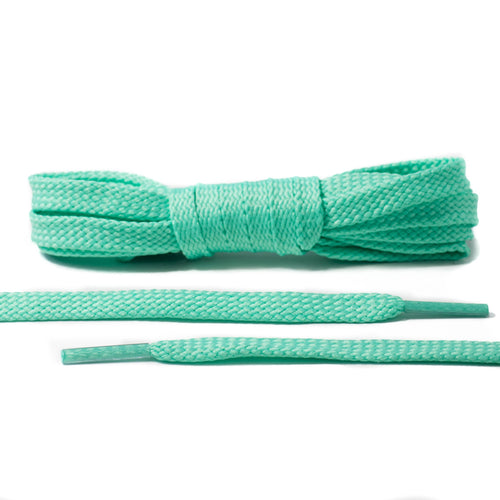 Mint Green Flat Laces