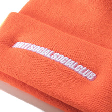 ASSC Mr. Bean Knit Cap F/W 19 Drop (Orange)