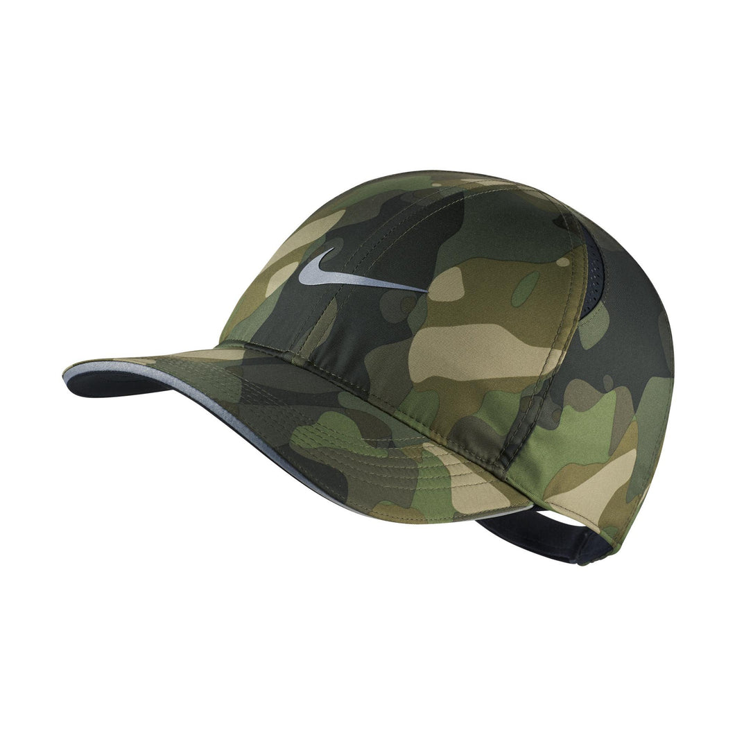 Nike Featherlight Camo Cap (Green)