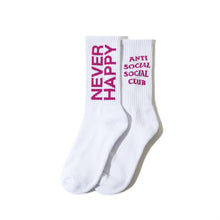 ASSC Never Happy Socks F/W 19 Drop (White)