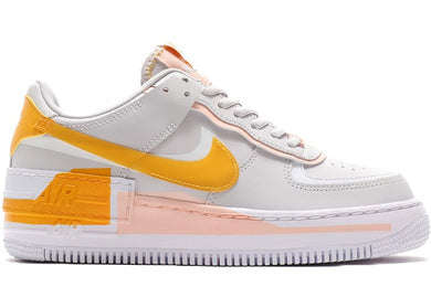 (PRE ORDER) Women's Nike Air Force 1 Shadow SE (Vast Grey/Pollen Rise/Washed Coral)(CQ9503-001)(50% DOWNPAYMENT REQUIRED)