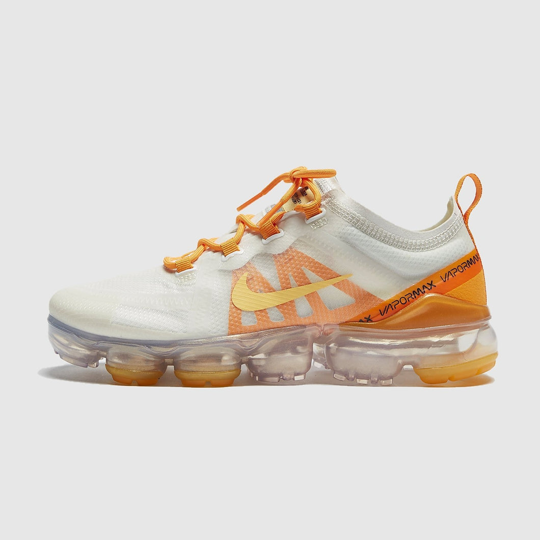 Women's Nike Air Vapormax 2019 (Summit White/Topaz Gold/Orange Peel) (AR6632-102)