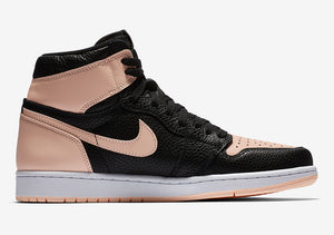 "Men's Nike Air Jordan 1 Retro High ""Black Crimson Tint"""