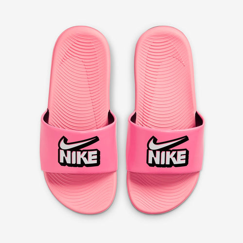 PS/GS Nike Kawa Slide FUN (Sunset Pulse/White/False Black)(DD3242-600)