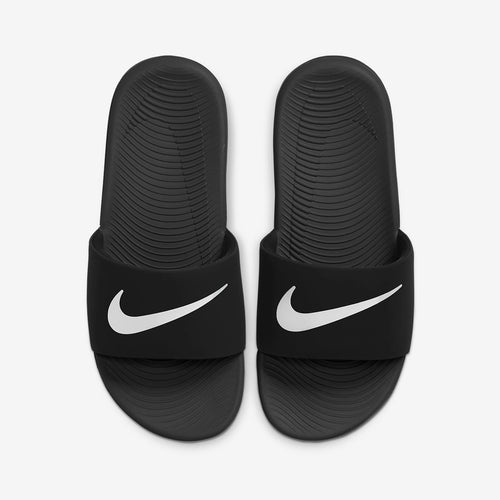 PS/GS Nike Kawa Solarsoft Slide (Black/White)(819352-001)