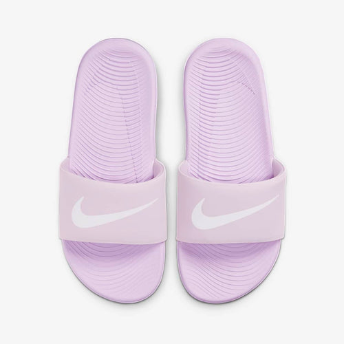 PS/GS Nike Kawa Solarsoft Slide (Iced Lilac/Particle Grey)(819352-501)