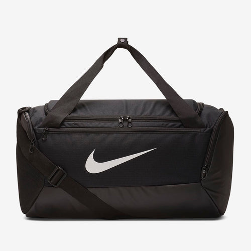 Nike Brasilia Duffel Bag (Small)(Black/White)(BA5957-010)