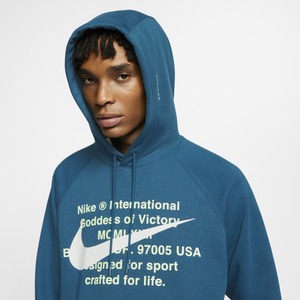 Men's Nike French Terry Pullover Hoodie (Blue Force)(CJ4864-499)