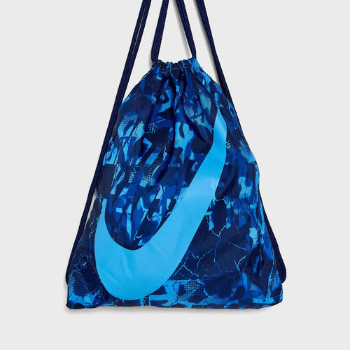 Nike Heritage Gym Sack Drawstring Bag (Blue Digicamo)(Youth Size)