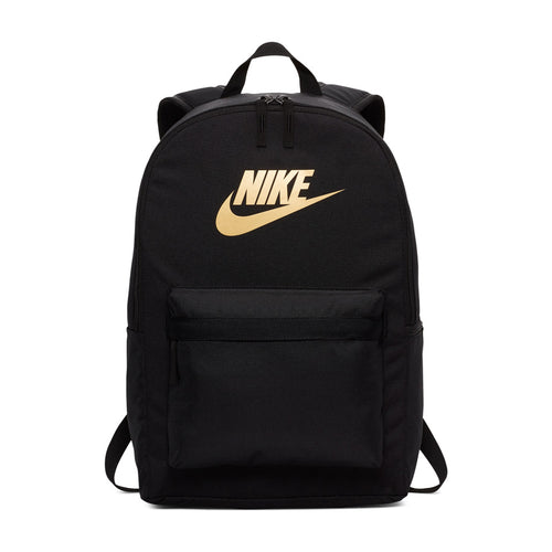 Nike Heritage 2.0 Backpack (Black/Metallic Gold)(BA5879-013)