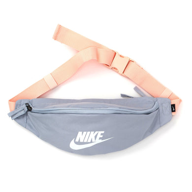 Nike Heritage Waist Bag Fanny Pack (Sky Grey/Coral White)(unisex)(BA5750-042)
