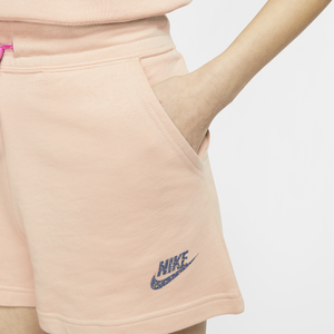 Women's Nike Icon Clash Shorts (Shimmer Peach/Fire Pink)(CJ2278-287)