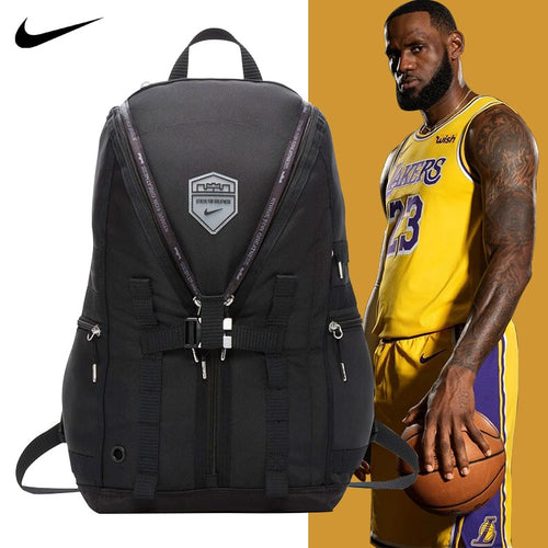 Nike LeBron Backpack (Black/Dark Grey/Silver)(BA5987-010)