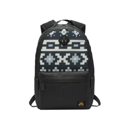 Nike SB Icon Printed Backpack (Anthracite/Sail/Dark Sulphur)(BA6415-060)
