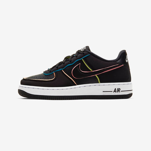 Nike Air Force 1 LV8 SE (Black/Pink/Barely Volt/Black)(CD7406-001)