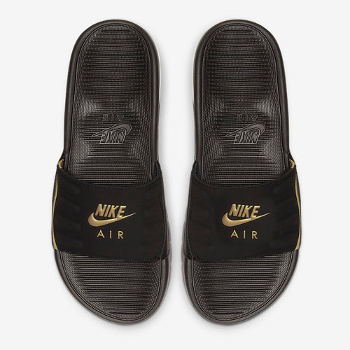 Women's Nike Air Max Camden Slides (Black/Metallic Gold)