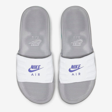 Women's Nike Air Max Camden Slides (Wolf Grey/White/Pure Platinum/Hyper Grape)