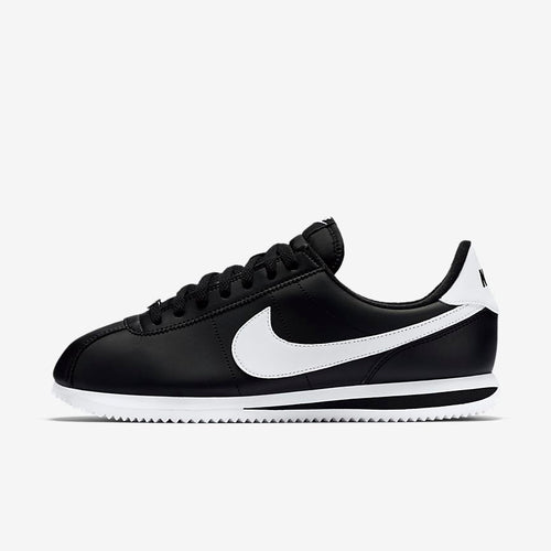 Men's Nike Basic Cortez OG '72 (Black/Metallic Silver/White)