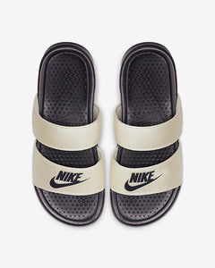 Nike Benassi Duo Ultra Slides WMNS (Oil Grey Pale Ivory)