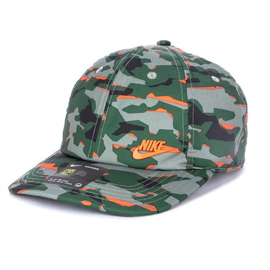 Nike H86 Camo Cap (Green-Orange)