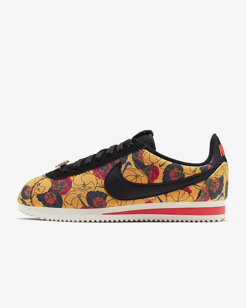the best attitude 8357a b47c9 Women's Nike Classic Cortez LX Gold Floral (Limited Summer Edition)
