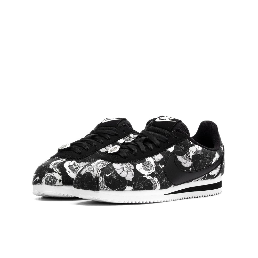 online store 6fb2f 8d1b3 Women's Nike Classic Cortez LX Black Floral (Limited Summer Edition)