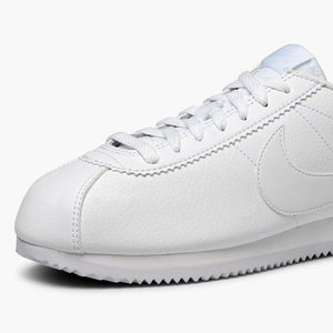 Women's Nike Classic Leather Cortez (Triple White)