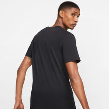 Men's Nike Essential Embroidered Tee (Black/White)(AR4999-013)