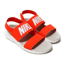 Women's Nike Tanjun Sandals (Habanero Red/Moon Particle)(882694-602)