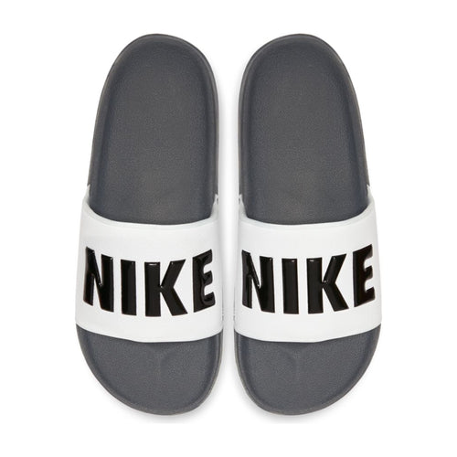 Men's Nike Offcourt Slides (Dark Gray/Black/White)(BQ4639-001)