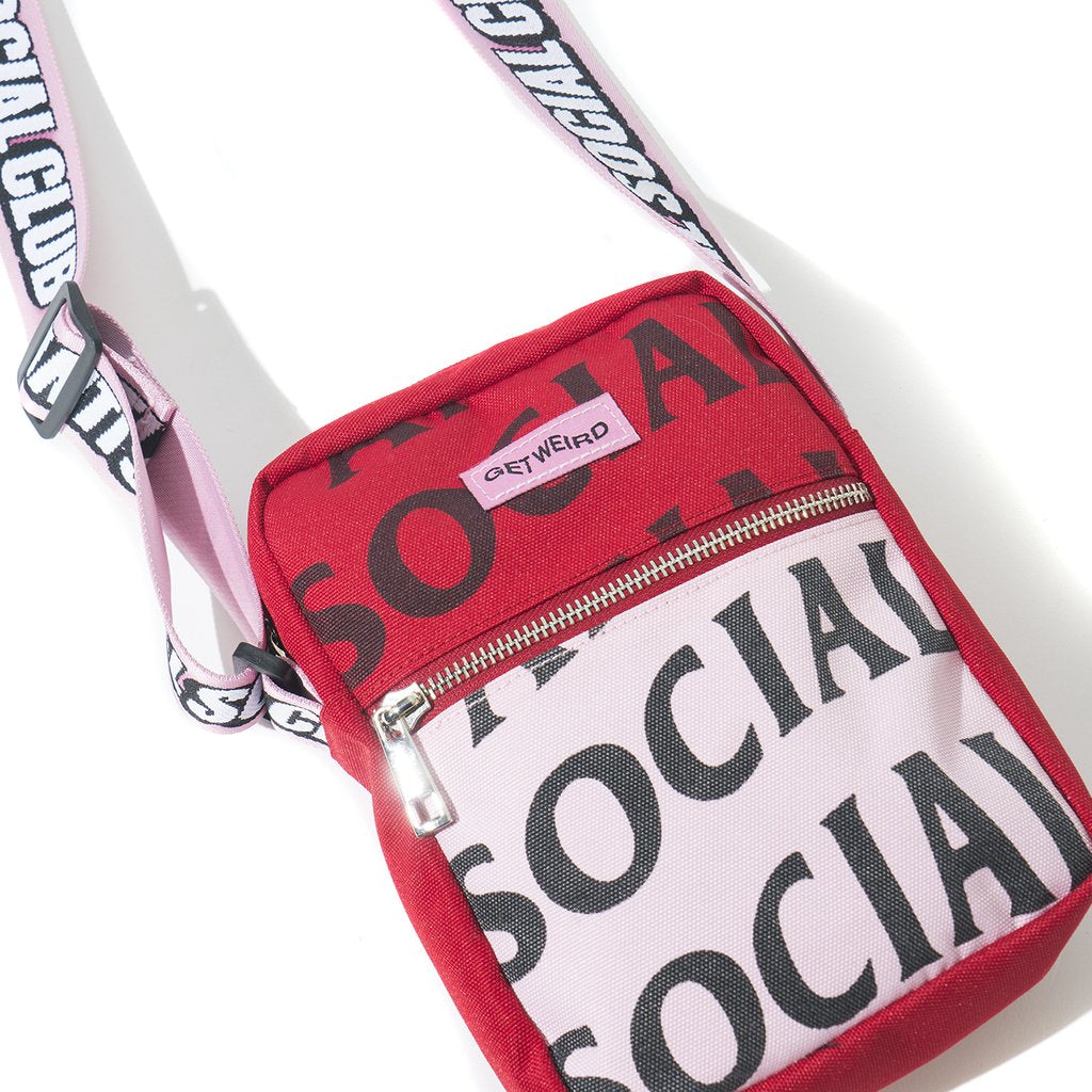 ASSC It's The Remix Side Bag F/W 19 Drop (Pink)