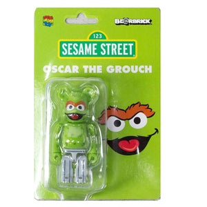 100% BE@RBRICK Oscar the Grouch (Sesame Street)