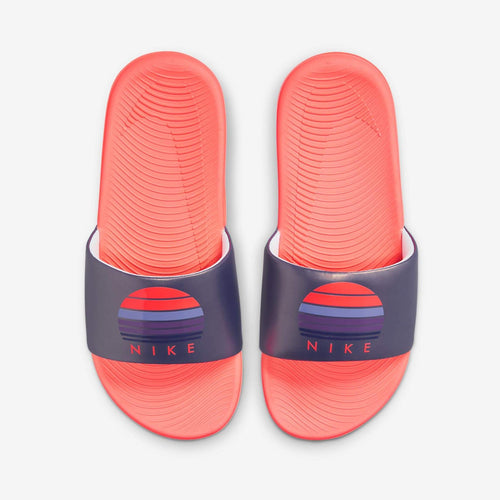 PS/GS Nike Kawa Solarsoft Slide SE 2 (Dark Purple Dust/Bright Mango)(DA2638-500)