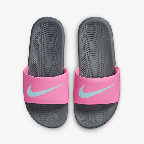 PS/GS Nike Kawa Solarsoft Slide (Pink Glow/Glacier Ice)(819352-604)